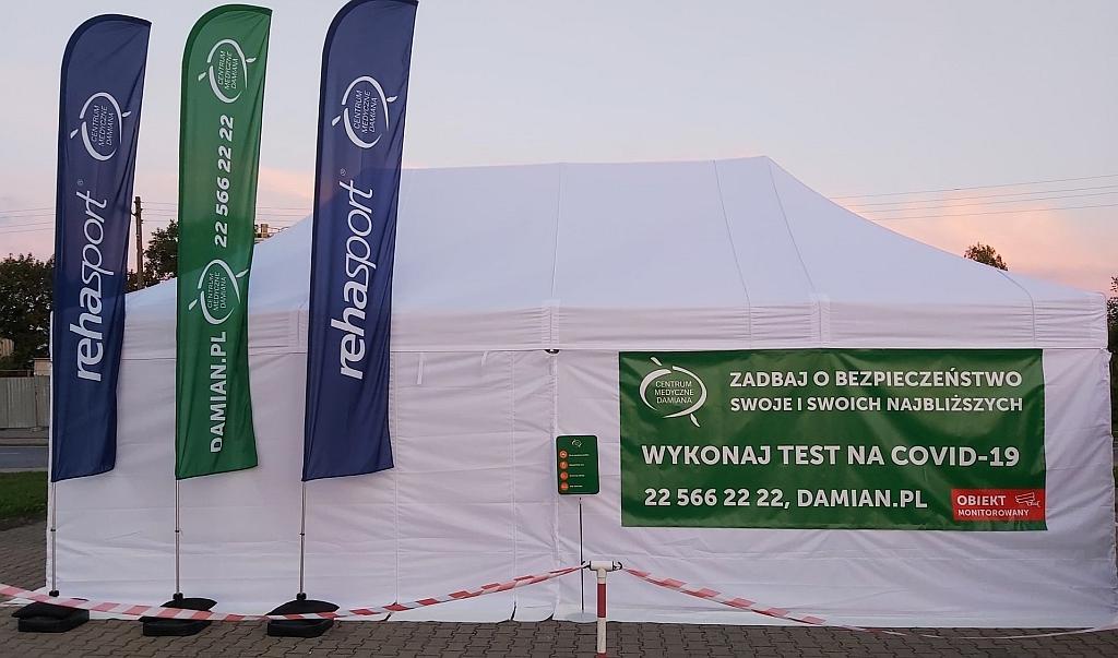 Nowe mobilne punkty testów na koronawirusa w wielu polskich miastach
